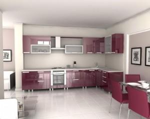 Tủ Bếp Giá Rẻ 082T