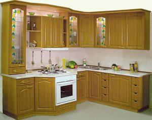 Tủ bếp gỗ giá rẻ 01T