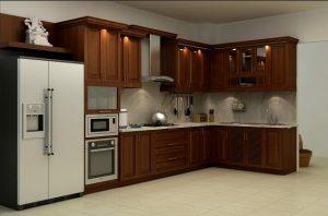 Tủ bếp gỗ giá rẻ 09T