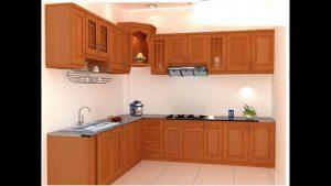 Tủ bếp gỗ giá rẻ 11T