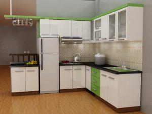 Tủ bếp gỗ giá rẻ 12T