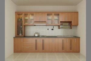 Tủ bếp gỗ giá rẻ 14T