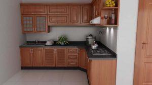 Tủ bếp gỗ giá rẻ 20T